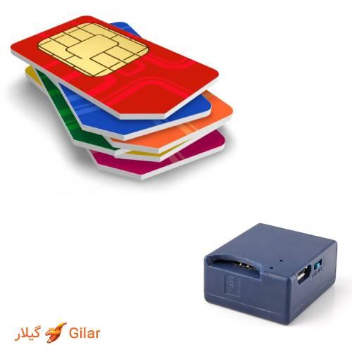 پشتیبانی از تمام اپراتورهای سیم کارت در انتقال دهنده صدا و مکان یاب جی پی اس