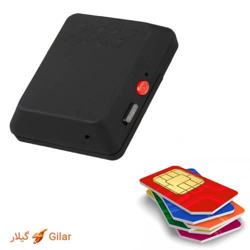 دستگاه شنود با قابلیت نصب سیم کارت