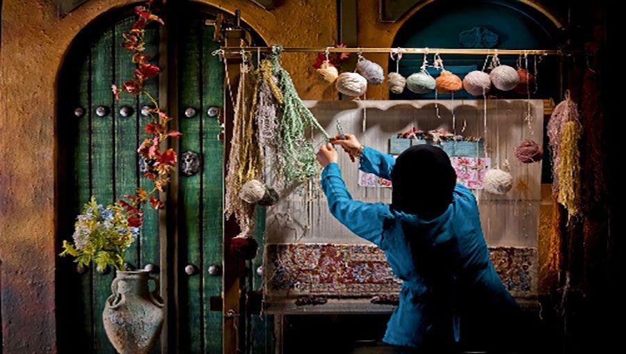 تاریخچه هنر قالی بافی در زمان قدیم