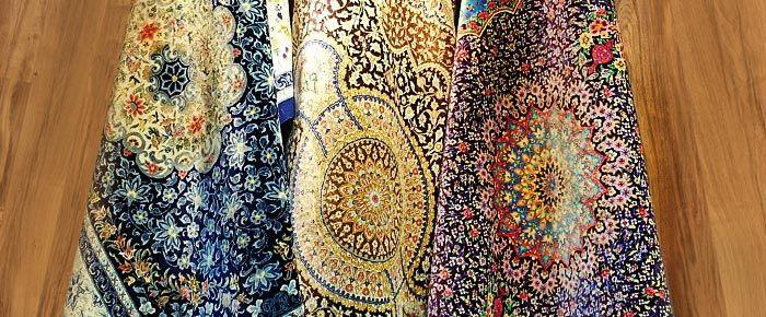 فرش قم فرش دستباف ایرانی
