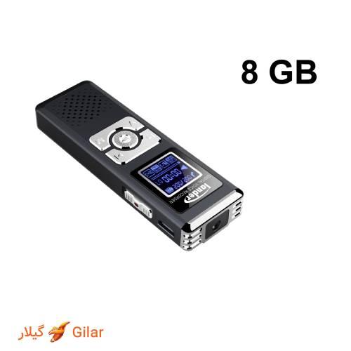 8 گیگابایت حافظه داخلی دستگاه ضبط صدا