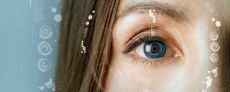 رزولوشن چشم انسان