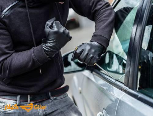 دزدگیر استیلاک A591 TX1000 دارای شوک سنسور