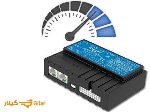 هشدار سرعت غیرمجاز در ردیاب ماشین تلتونیکا FM5300