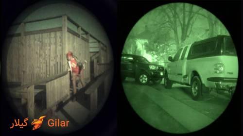 قابلیت دید در شب دوربین مداربسته پلاک خوان