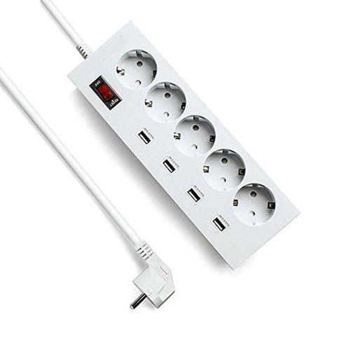 چند راهی شارژر دار موبایل - KA30WSL-5AE4U power strip