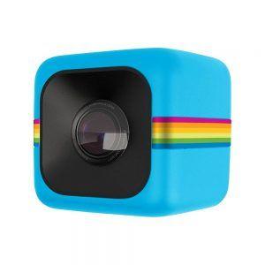Polaroid Cube Action Camera Blue دوربین کوچک دوربین پولاروید دوربین کامپکت دوربین