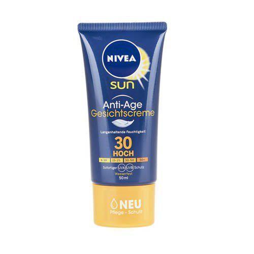 کرم ضد آفتاب و ضد چروک نیوآ مدل Gesichtscreme SPF30 حجم ۵۰ میلی لیتر