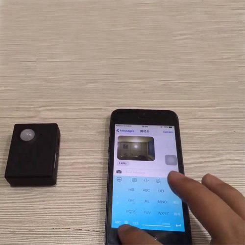 دزدگیر دوربین دار سیم کارتی X9009 - رم خور با سنسور حرکتی