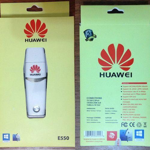 مودم سیم کارتی هواوی E550 - مودم همراه با امکان پشتیبانی 3G