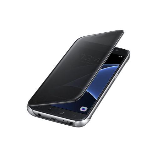 کیف کلاسوری سامسونگ مدل Clear View – محافظ بدنه گوشی موبایل Galaxy S7 Edge