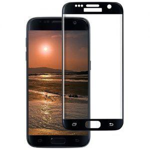 محافظ صفحه نمایش شیشهای نمپرد مدل Full Cover - مناسب برای گوشی موبایل سامسونگ Galaxy S7