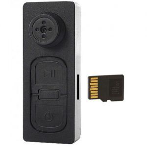 دکمه دوربین دار مخفی - دوربین جاسازی شده در دکمه با نشانگر ویبراتور