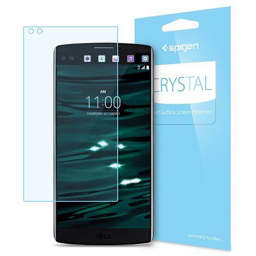 محافظ صفحه نمایش اسپیگن مدل Crystal مناسب برای گوشی موبایل