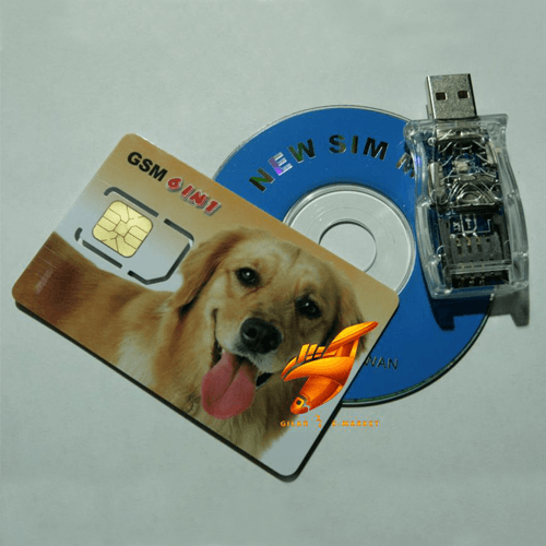 دستگاه کپی سیم کارت - سیم کارت خوان ۶ تایی