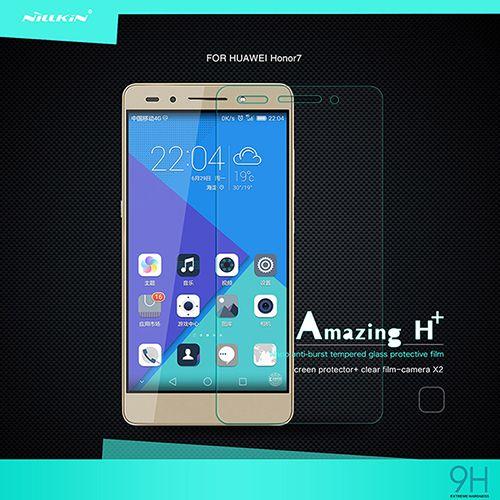 محافظ صفحه نمایش اچ آنتی اکسپلوژن نیکلین شیشهای - مناسب برای گوشی موبایل هوآوی HONOR 7
