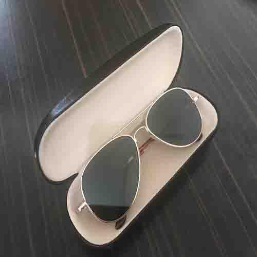 عینک خلبانی طرح پلیس با قابلیت دیدن پشت سر