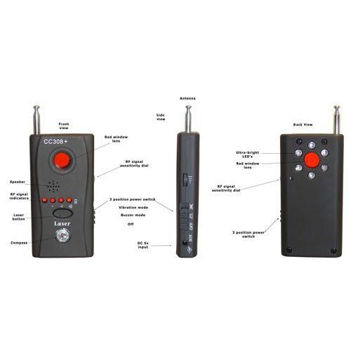 فرکانس یاب حرفه ای و پرقدرت - فرکانس یاب با قابلیت پیدا کردن هر نوع سیگنال