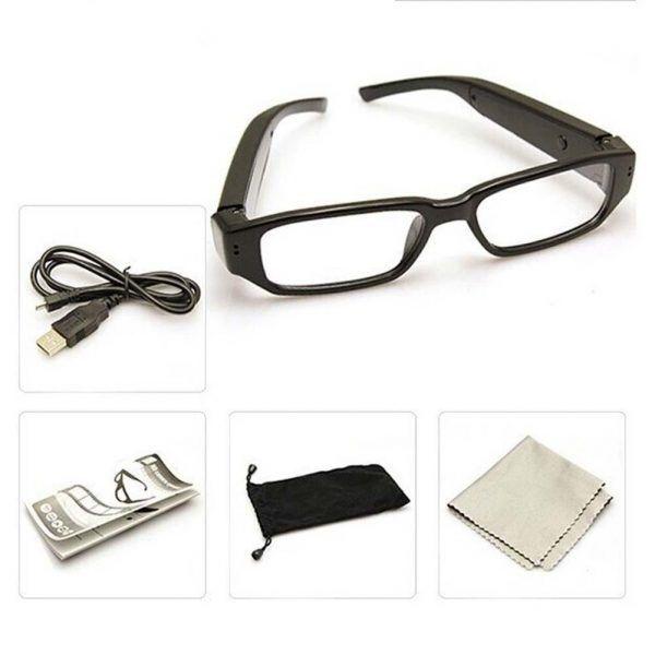 عینک طبی با دوربین مخفی HD
