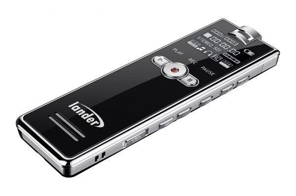 ضبط خبرنگاری لندر مدل LD-75F Vبهترین رکوردر صدا رکوردر صدا دانشجویی ویس رکوردر