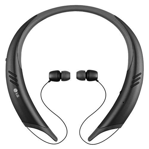 هدست استریو بیسیم ال جی مدل HBS-A100 Tone Active Plus – هدست بلوتوثی گردنبندی