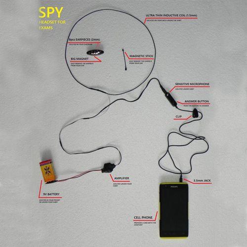 هندزفری بلوتوثی مخفی Micspy - نانو هندزفری بلوتوثی مخفی