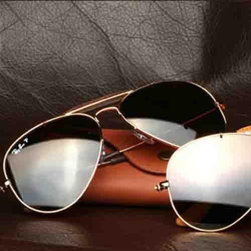 عینک خلبانی طرح پلیس – با قابلیت دیدن پشت سر