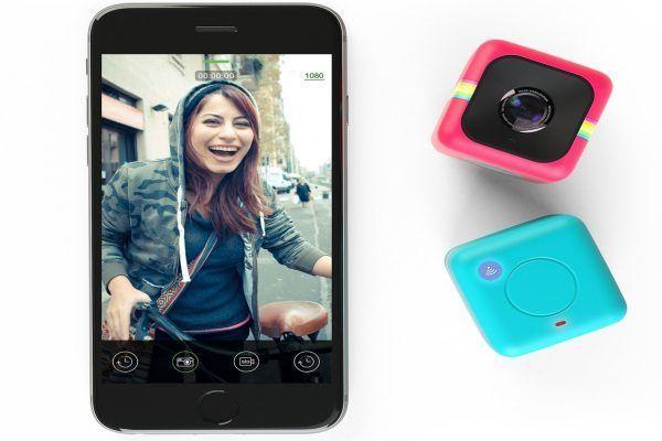 Polaroid Cube WIFI HD Action Camera Black n دوربین کوچک دوربین پولاروید دوربین کامپکت دوربین
