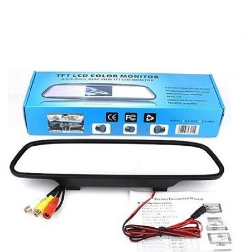 آینه دوربن دار خودرو با قابلیت ضبط صدا