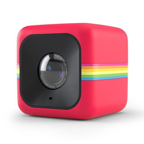 Polaroid Cube Lifestyle Action Camera Red دوربین کوچک دوربین پولاروید دوربین کامپکت دوربین