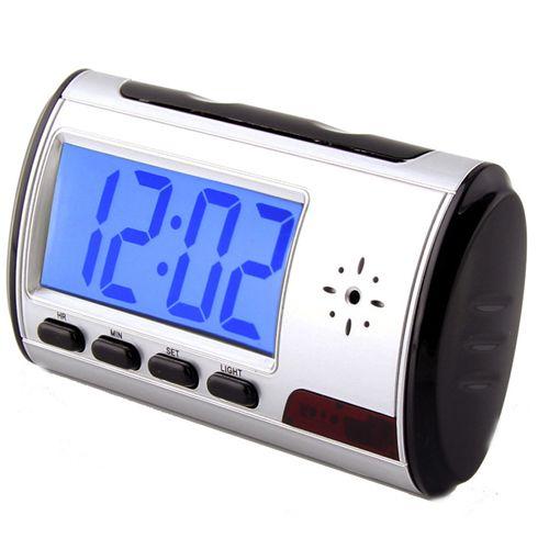 ساعت دیجیتال رومیزی دوربین دار – ساعت رومیزی با دوربین مخفی