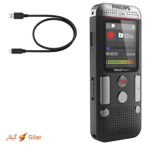 اتصال دستگاه ضبط صدا دیجیتالی فیلیپس به کامپیوتر از طریق usb