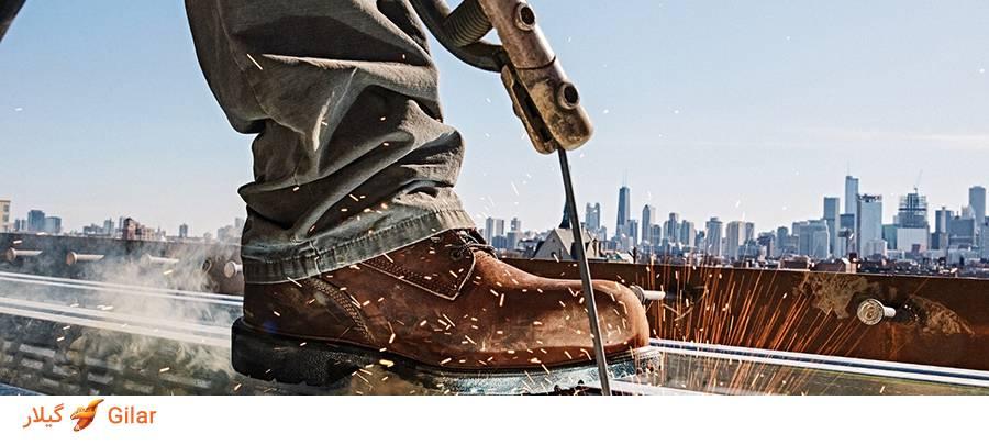 7دلیل استفاده از کفش ایمنی