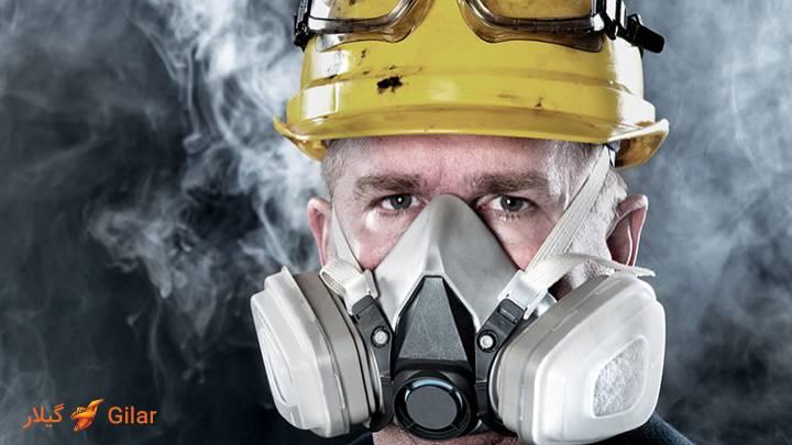 انواع تجهیزات ایمنی تنفس و ماسک های تنفسی