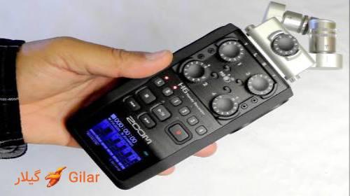 فرمت ضبط صدا ویس رکوردر H6