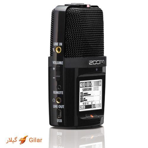 تکنیک Mid-Side دستگاه ضبط Zoom H2n صدا