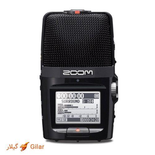 صفحه نمایش واضح Zoom-H2n