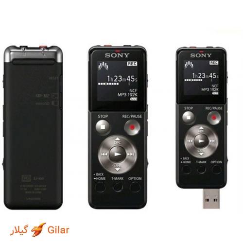 رادیو FM ویس رکوردر سونی ICD-UX543F