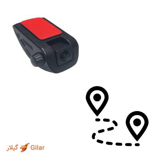 موقعیت مکانی دوربین خودرویی دنکمن