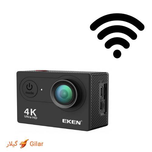 اتصال به wifi دوربین ورزشی ضد آب اکن H9R