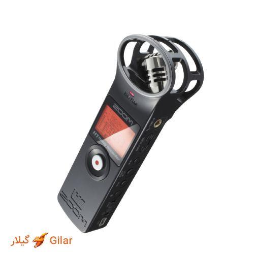ضبط صدا در ویس رکوردر زوم h1
