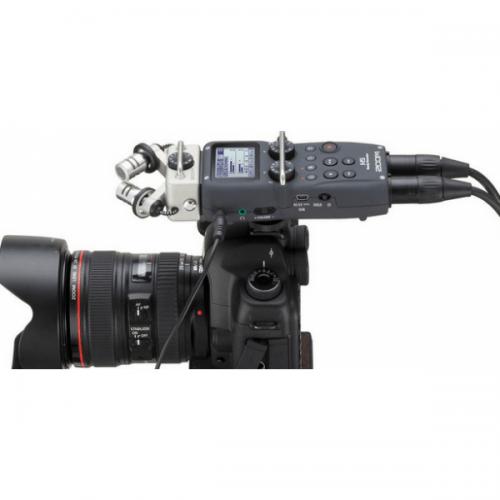 ضبط صدای Zoom h5 با قابلیت اتصال به دوربین
