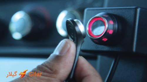 ردیاب خودرو تلتونیکا FM1120 مجهز به سیستم تشخیص راننده