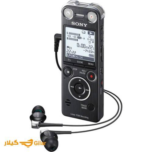 ضبط کننده صدای Sony ICD-SX1000 دارای خروجی هدفون